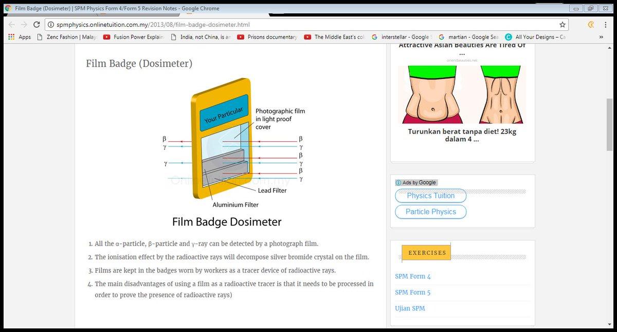 Spm2018 On Twitter Detectors Of Radiation Film Badge Dosimeter