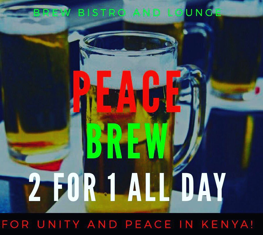 After a long day we thought you may need this! #PeaceBrew is on #HappYHour all night cheers