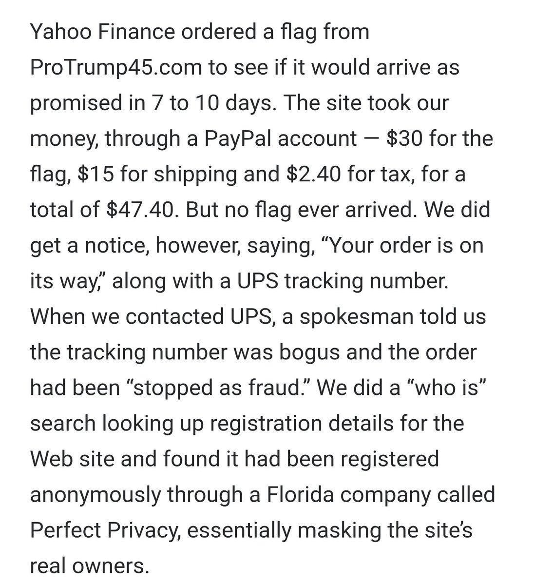 yahoo ups tracking