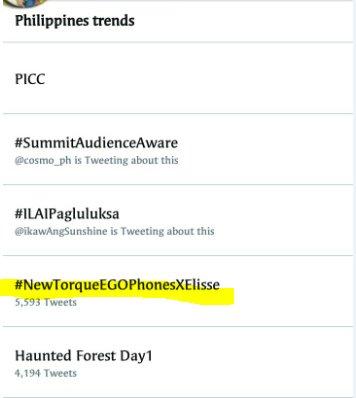 #NewTorqueEGOPhonesXElisse was trending! Thanks guys! :) <br>http://pic.twitter.com/a6kVEELIOS