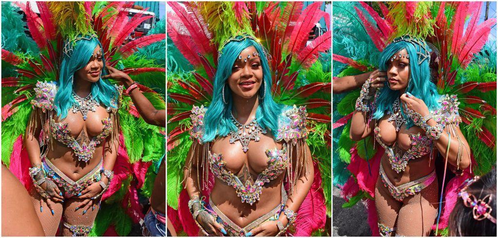 Elle s'est éclatée au festival Crop Over #Rihanna https://t.co/Saaaz7zZj9
