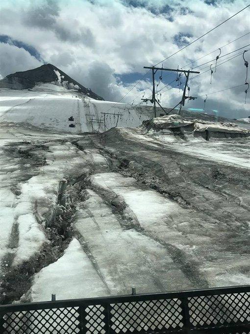 Si el viernes cerraba #Tignes, un día más tarde se añadía a la lista el glaciar del Tirol del Sur, Passo  #Stelvio ➡️https://t.co/AHuykP6Zf5