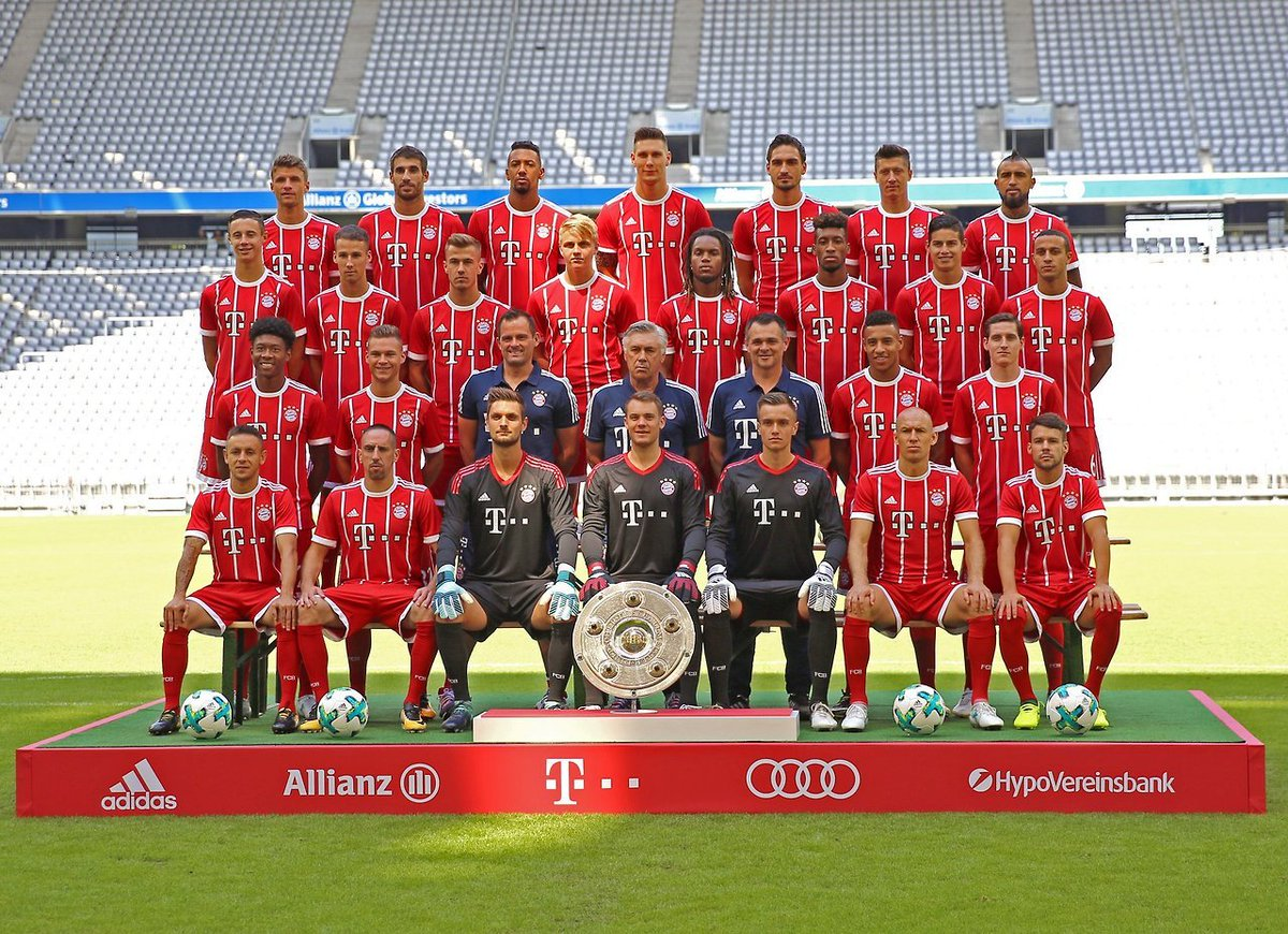 bayern germany on twitter bayern 39 s 2017 18 team photo. Black Bedroom Furniture Sets. Home Design Ideas