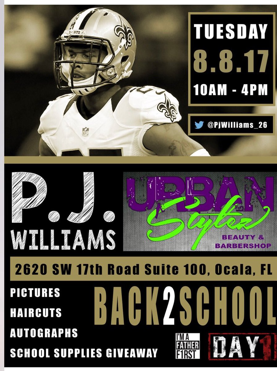 Pj Williams On Twitter Back To School Drive In My Home Town Ocala