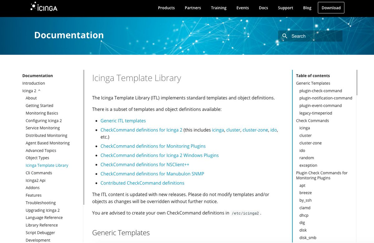 Icinga2 Documentation