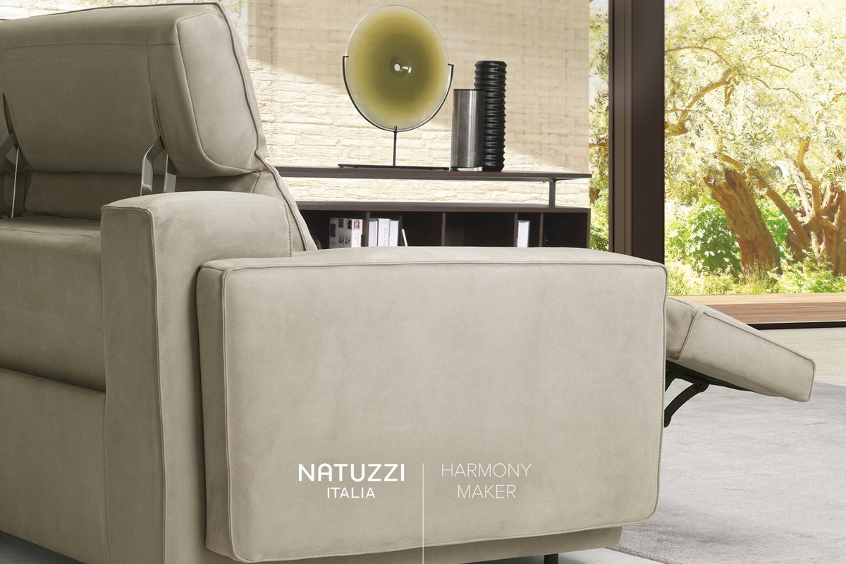 #Natuzzi Iago Is The Sofa Where Beauty Combines With Innovation: With The  Reclining System, This Model Grants Maximum Comfort  #HarmonyMakerpic.twitter.com/ ...