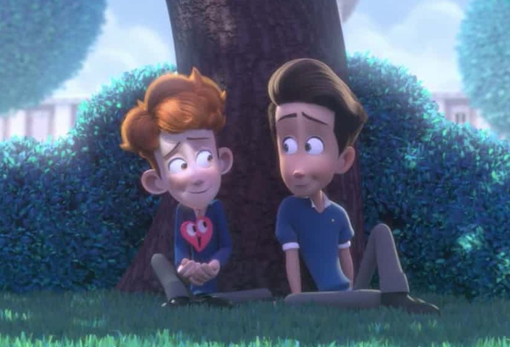 Animated love story