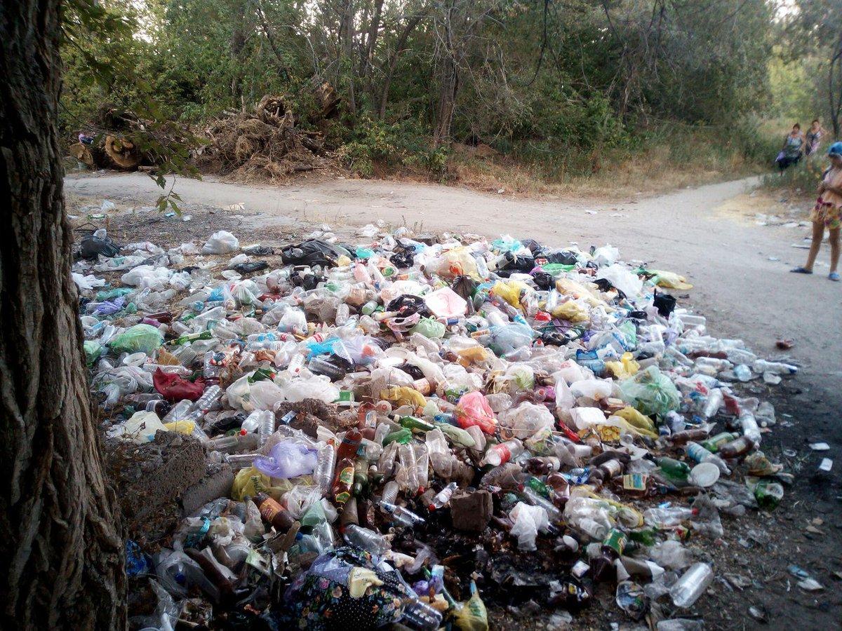 Свалки мусора в картинках