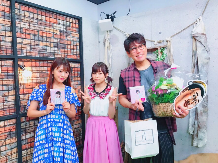 古坂大魔王の原石が出るTV ゲスト出演して来ました!  1週間ぶりの、すずこさん! そして初めまして…