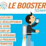 #Startup > Envoyez votre candidature d'ici le 08/09 pour intégrer le @BoosterSO_digit - Promo 5 #GPSO #numerique > https://t.co/ZSKtSbnsfM