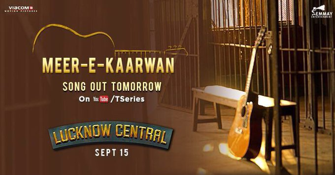 One of my favourites from @LucknowCentral, #MeerEKaarwan! Song out tomorrow. Stay tuned... https://t.co/XFJvVuJaz8