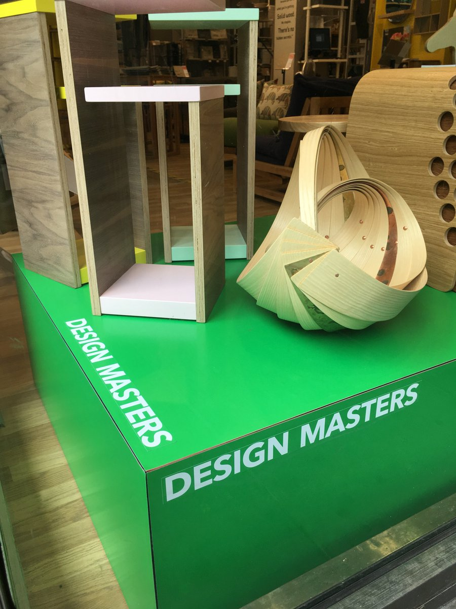 Futon Company On Twitter Have You Seen The Design Masters Installation In Our Tottenham Crt Rd Manchester Brighton S