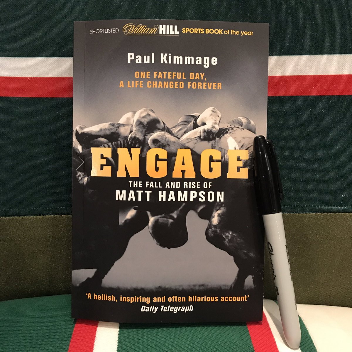 Retweet and Follow for your chance to win a personally signed copy of Engage by Matt Hampson #GetBusyLiving https://t.co/dgAIunAG0x