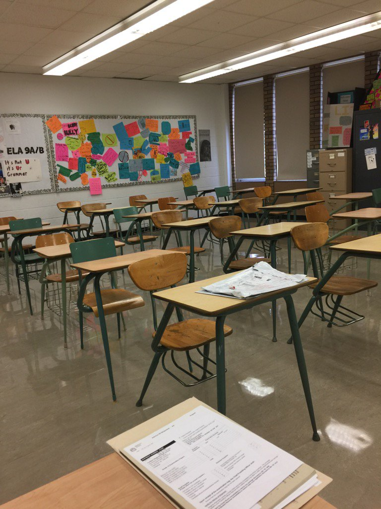 Grade 12 Dept. Exams run all week August 8-11 @ the YRHS. We are all ready to roll! #yrhs #gssd https://t.co/XDvOeCogLp