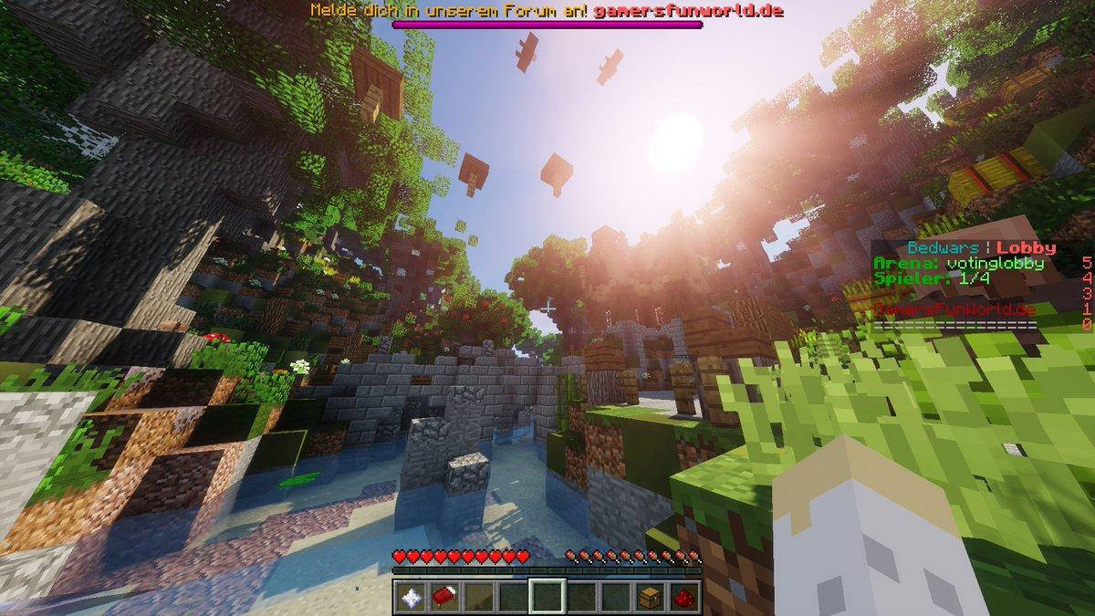 Manuel Hauser ManuelHauser Twitter - Minecraft bedwars jetzt spielen