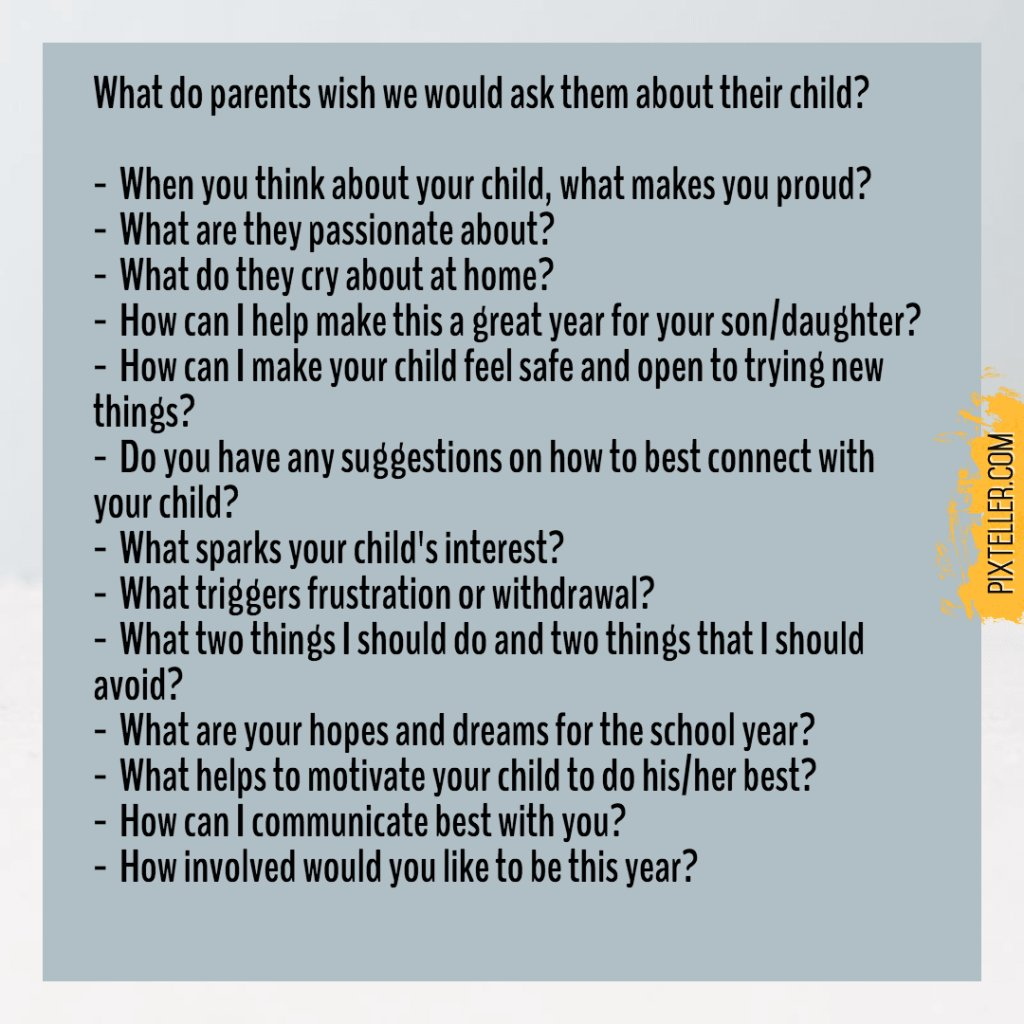 What Parents Wish We Would Ask Them About Their Child https://t.co/zfxrzVS8gD https://t.co/8T0X9RgRxS