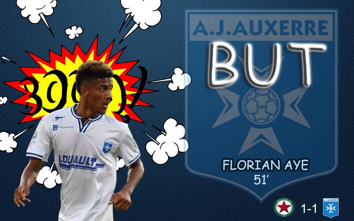 [MONTAGE BUT] @AJA @florianaye   #EDIT #CoupeDeLaLigue  #AJA #REDAJA  #DominosLigue2 #Buteur #AYE #GraphicDesign<br>http://pic.twitter.com/G8gmZqeeIw