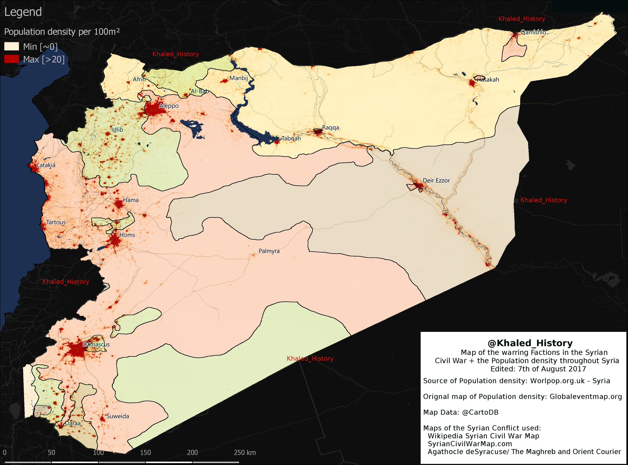syrian conflict historical trace and its