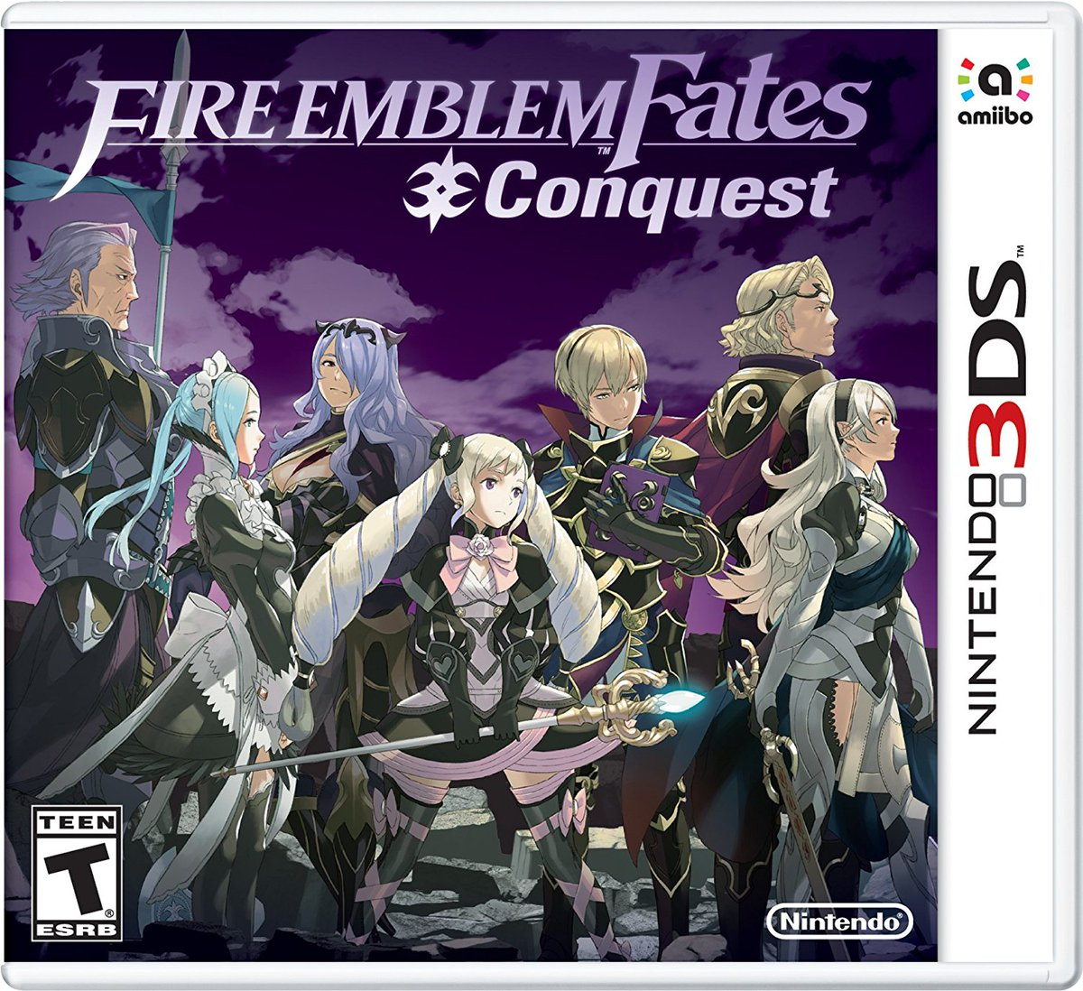 Ready for a challenge? Fire Emblem Fates: Conquest (#3DS) is on sale for $22.53. May RNG be in your favor! #FE  http:// amzn.to/2vg8JoM  &nbsp;  <br>http://pic.twitter.com/ZLc8ucxgJr