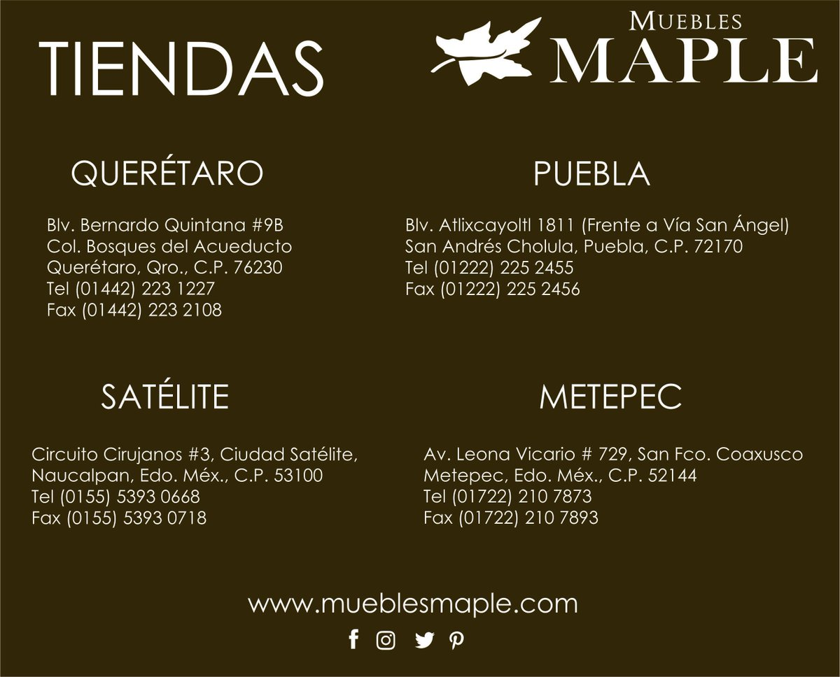 Muebles Maple Queretaro - Muebles Maple On Twitter Te Invitamos A Visitar Nuestras [mjhdah]https://lookaside.fbsbx.com/lookaside/crawler/media/?media_id=169343053656514