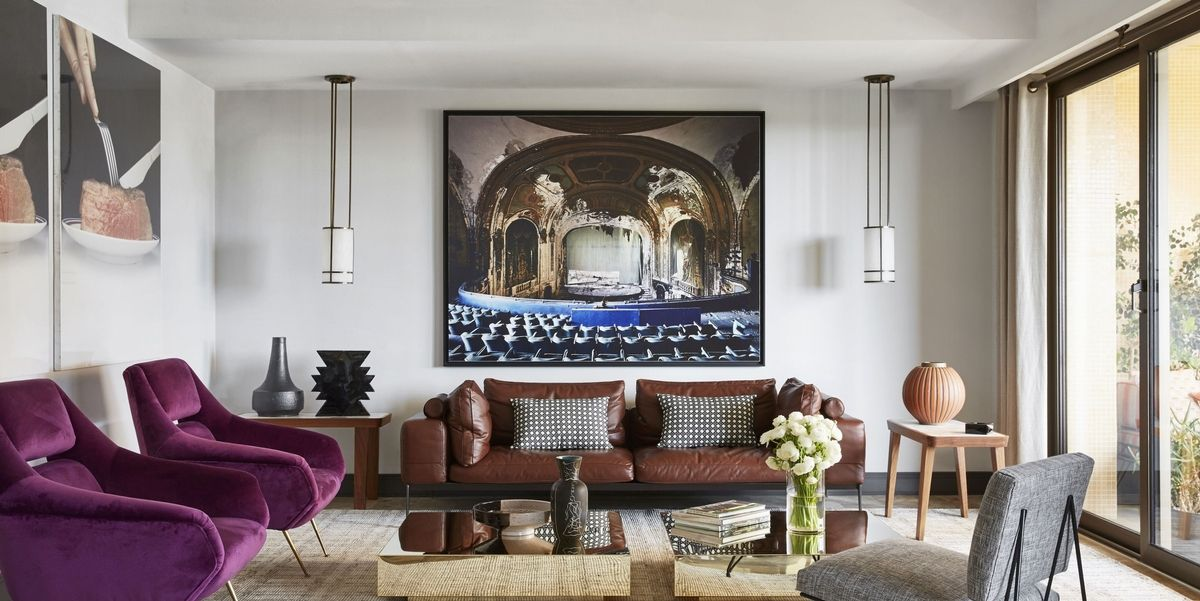 Elle Decor On Twitter 25 Best Wall Decor Ideas To Liven Up A Large