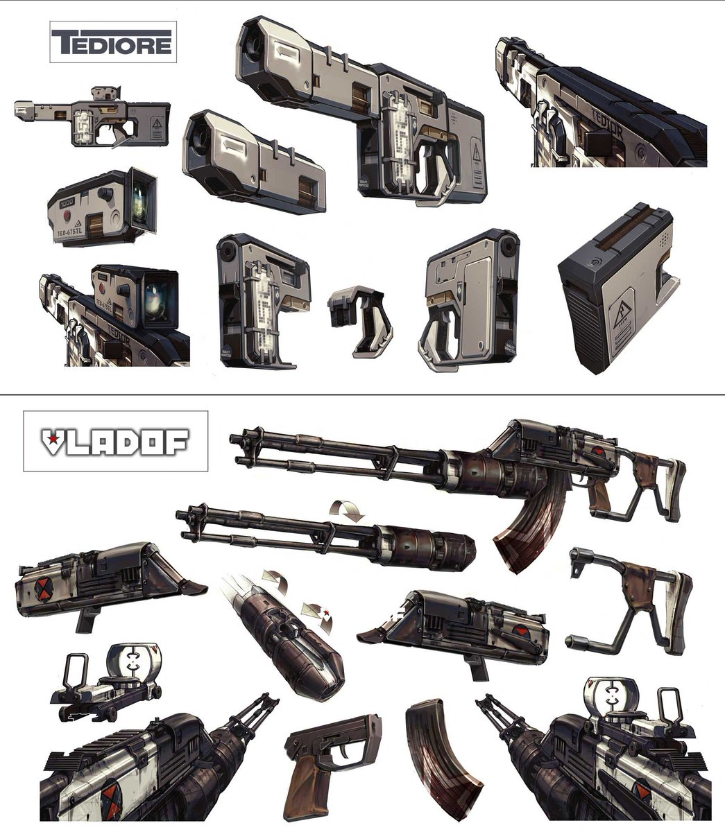 Each Borderlands 2 manufacturer has a unique look and style for their weapons. Which design is your favorite?