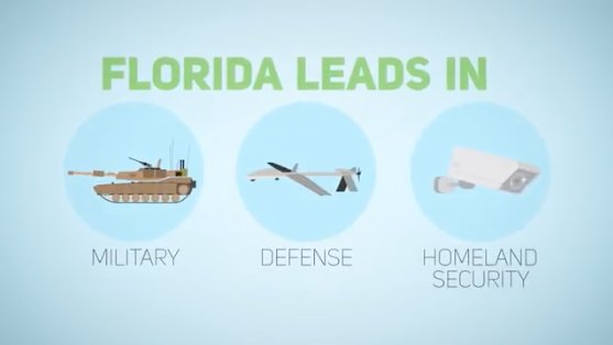 #Florida Proud!! Florida's Defense industry contributes ~$80B and 775K jobs! The sky is the limit! #technology  #innovation