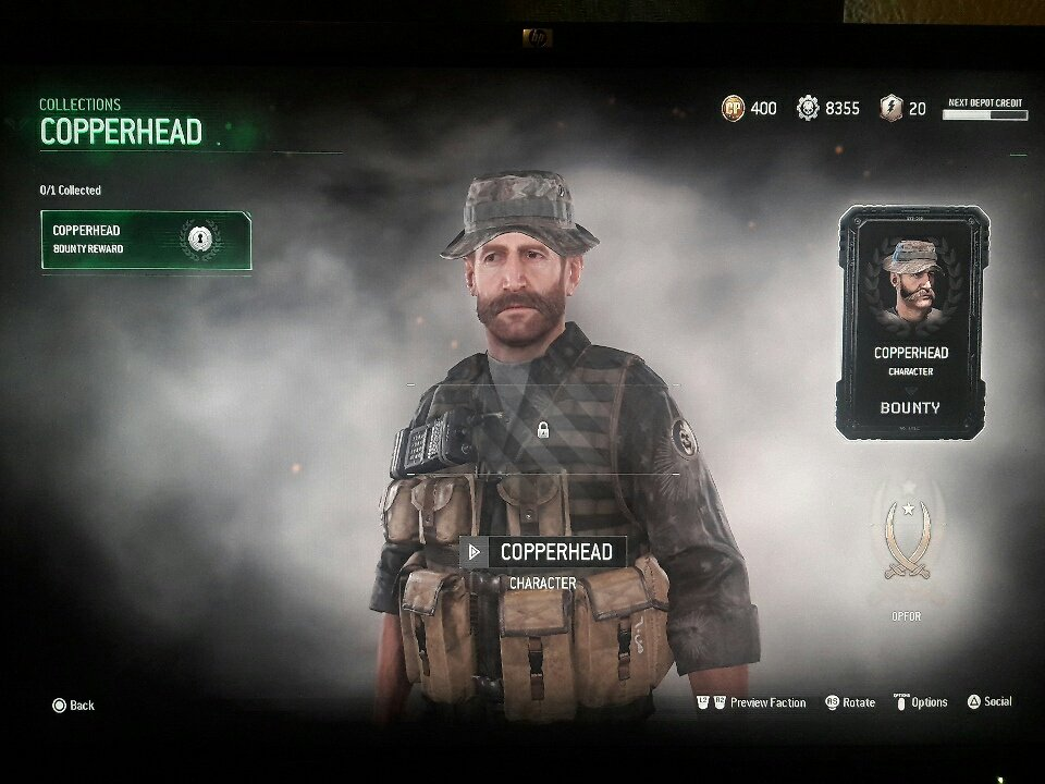 Call Of Duty News On Twitter So This Is New If You Complete All Operation Copperhead Collections You Unlock Captain Price Https T Co Ehyoa9ansg Https T Co Y9qvnvafmr