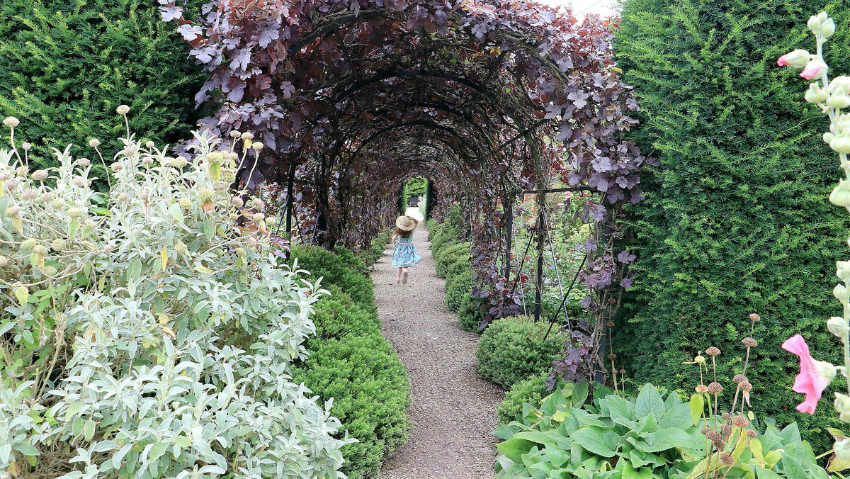 RT @The_Doves Think she thought she was Alice in Wonderland. Fleeting visit to @LoseleyPark, must go back for a *cough* more leisurely wander 💕