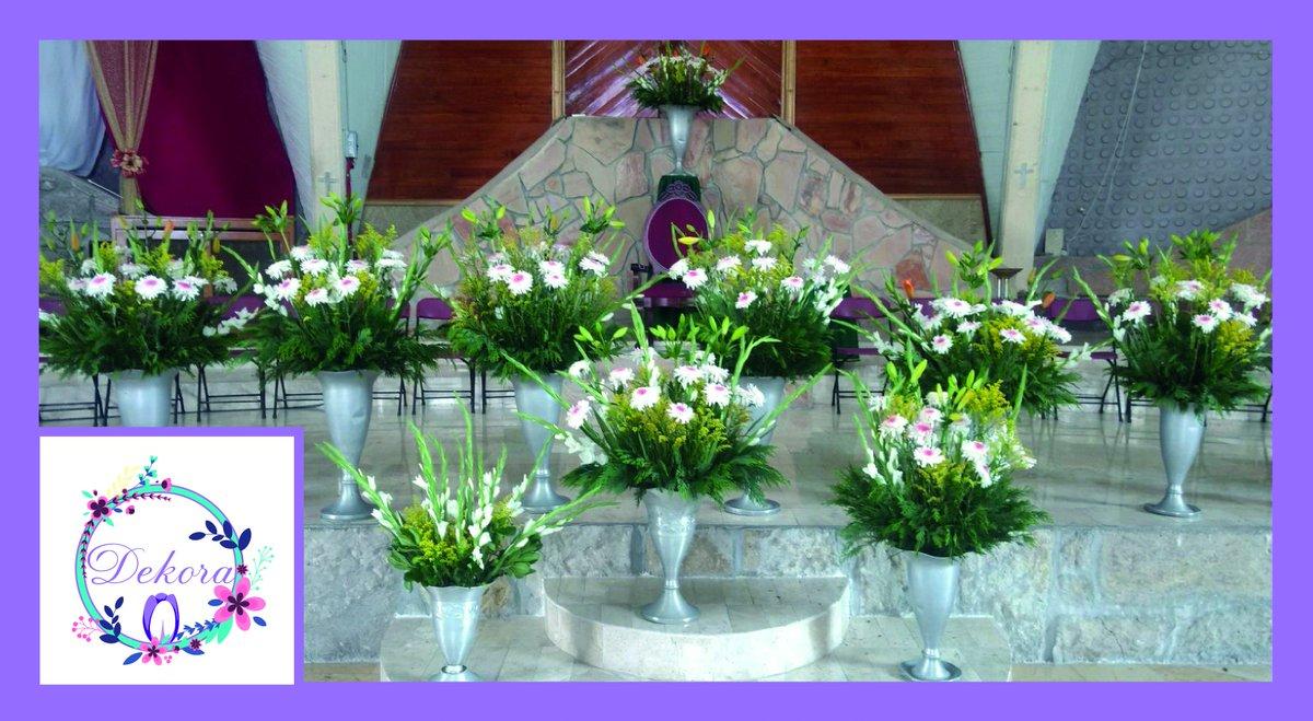 Dekora On Twitter Arreglos Para Iglesia Arreglos Flores