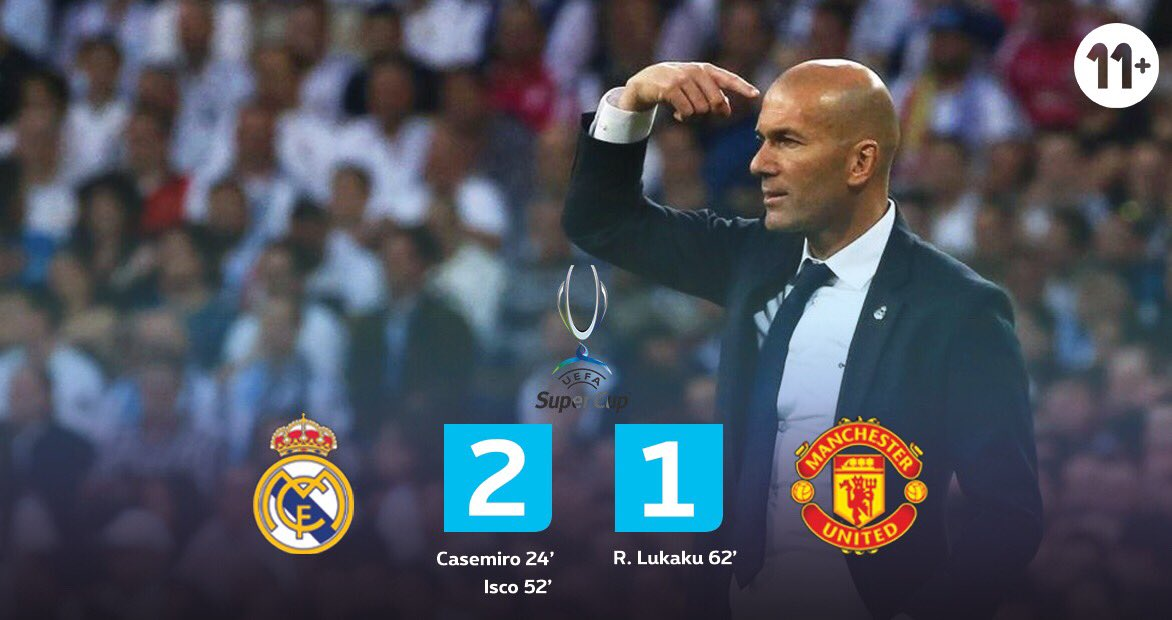Real Madrid wins the UEFA Super Cup 2017 ! #pxs11 #YouNeverWatchAlone #Supercup<br>http://pic.twitter.com/iR5mPuSlzn