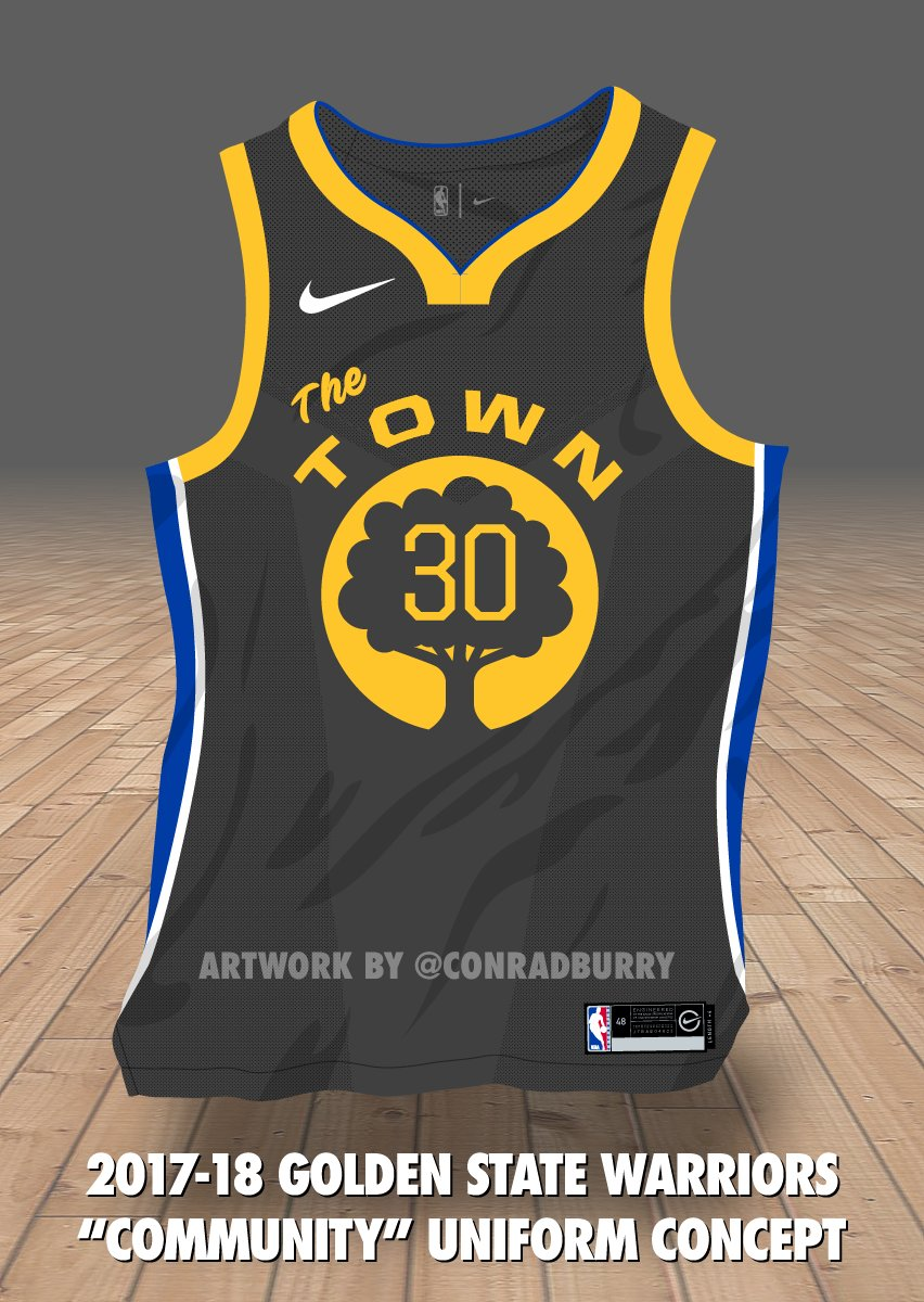 warriors the town jersey release date
