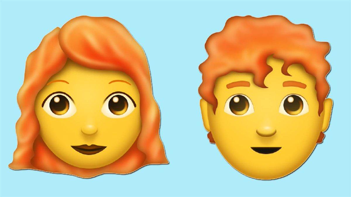 Red hair, curly hair, bald: A new batch...