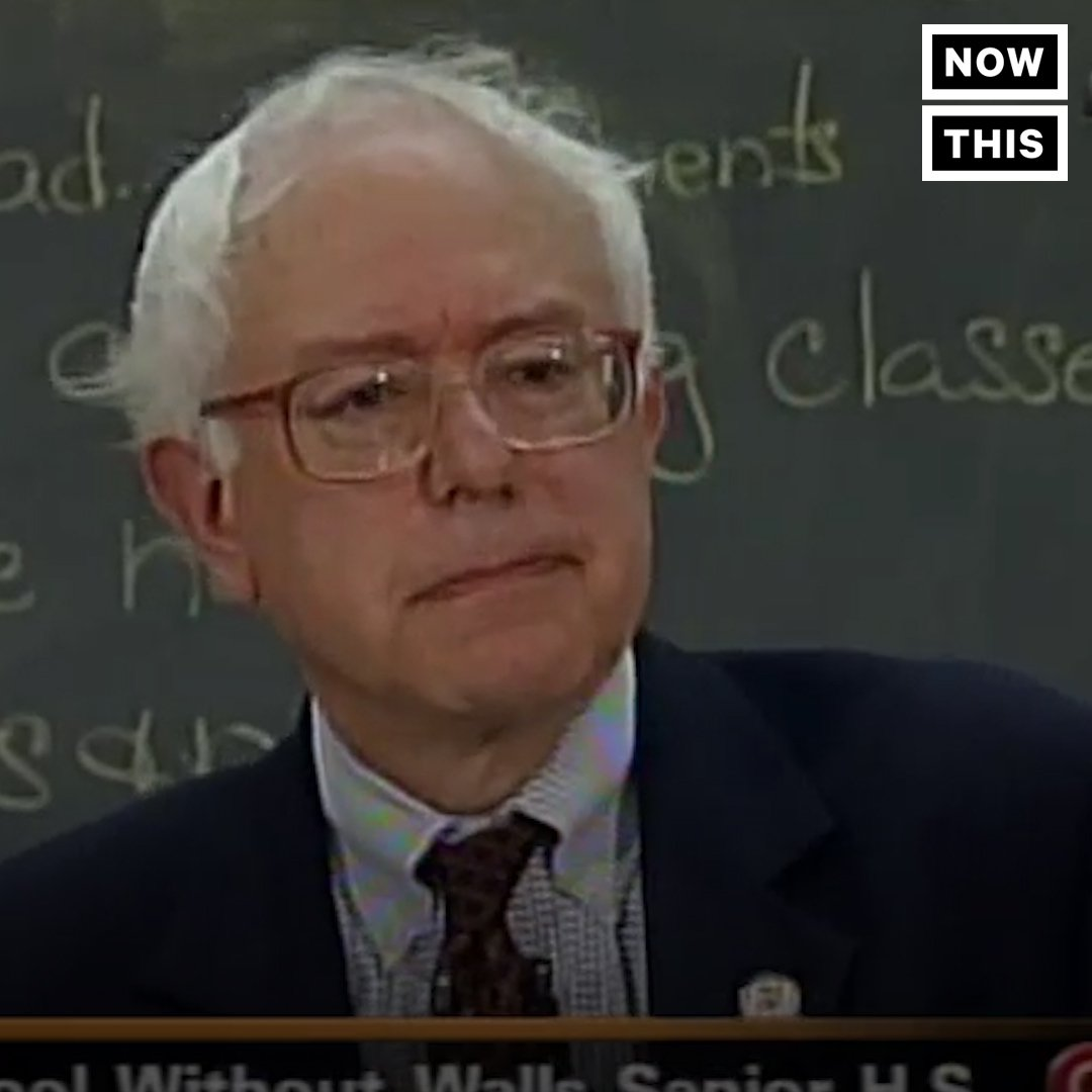 The @BernieSanders of 2003 sounds exactly like the Bernie Sanders of today