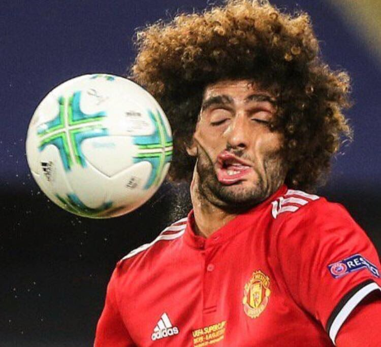 In which Marouane Fellaini plays the part of all humanity, and the ball plays the part of Trump... https://t.co/6ZsIMMj1GY