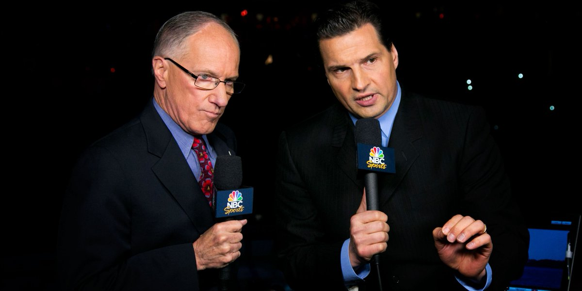All of us here at NBC Sports are pulling for you Edzo. Get well soon....