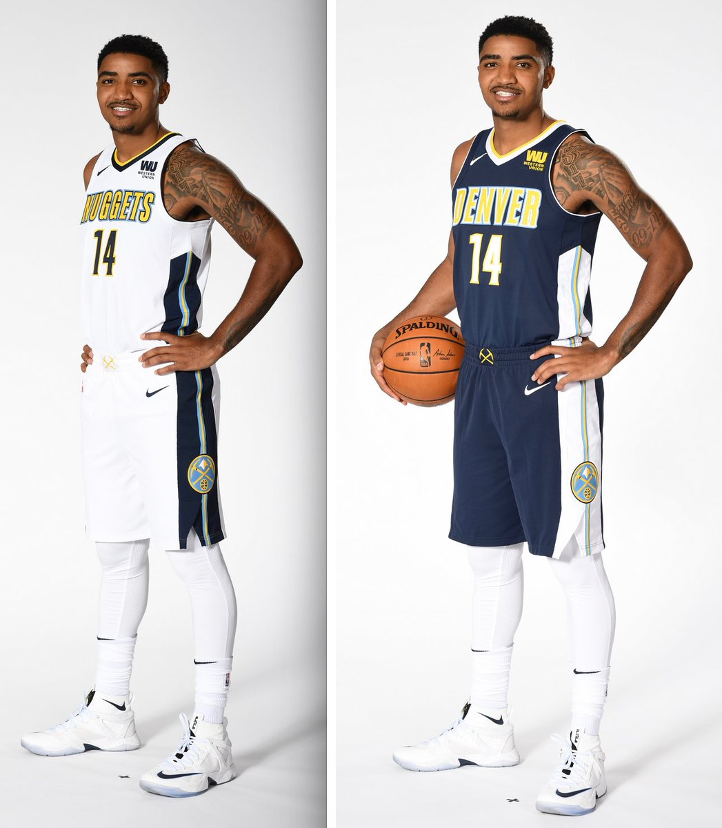 Denver Nuggets Jersey History: New Nike Uniforms