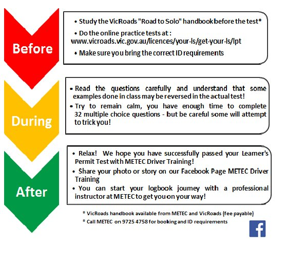 vicroads learners test 32 questions