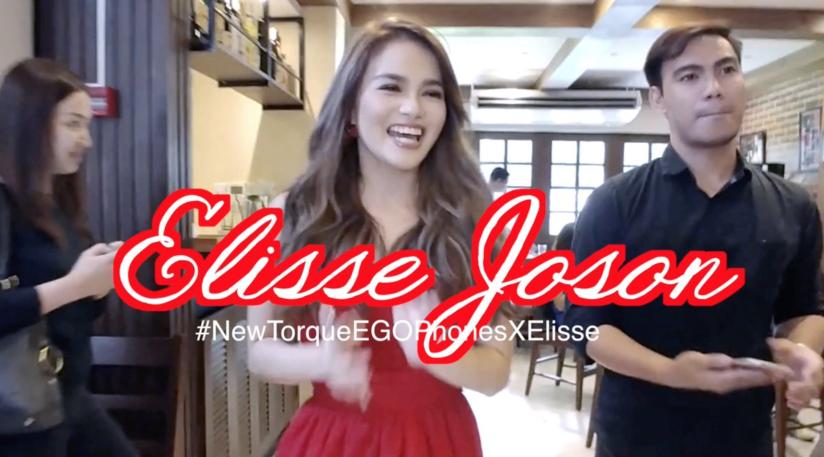 Watch:  https:// youtu.be/Yi8a4hGb3zI  &nbsp;   @ElisseJoson spotted! @ELISSEfinities #NewTorqueEGOPhonesXElisse #ElisseJoson #McLisse<br>http://pic.twitter.com/yOEzGTDK4s
