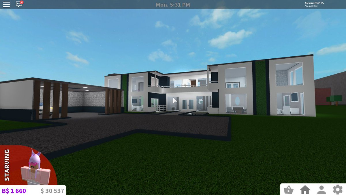 Welcome to bloxburg modern mansions