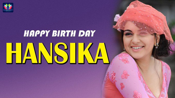 Join us in wishing Hansika Motwani a very happy birthday!