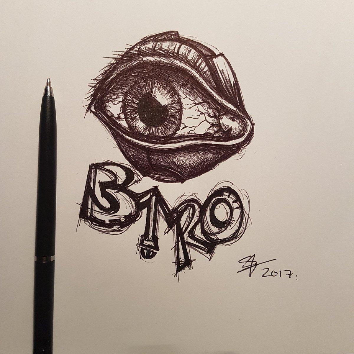 "Shane on Twitter: ""Here we have a b'eye'ro doodle. #eyes #art #artist #lol  #biro #inklusion #doodleinvasion @HeadwayNotts @Daily__Doodle @LeftLion…  https://t.co/D4SJKwq0Pk"""