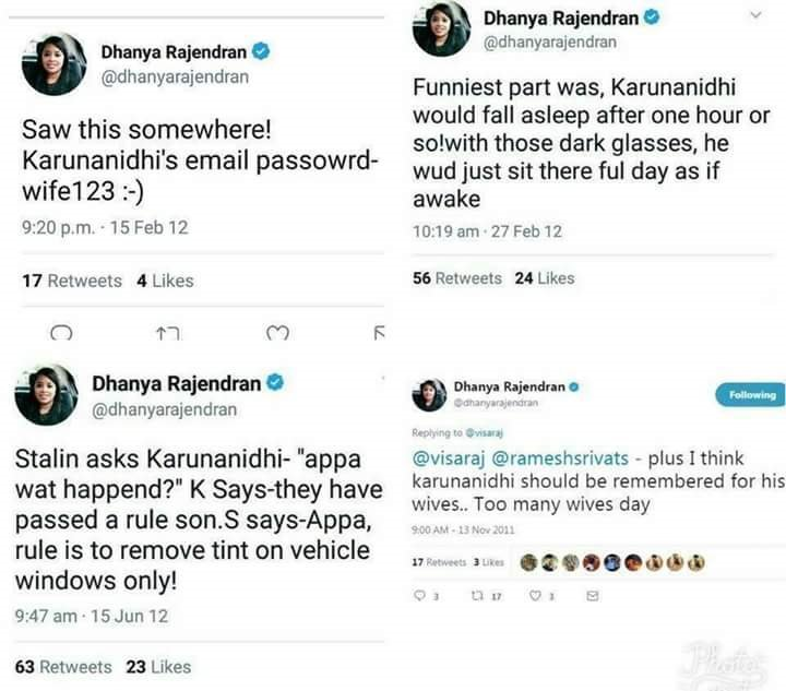 @dhanyarajendran   but she have to learn professional  journalism ethics. she need #publicity now got it <br>http://pic.twitter.com/50VXiYUs8t
