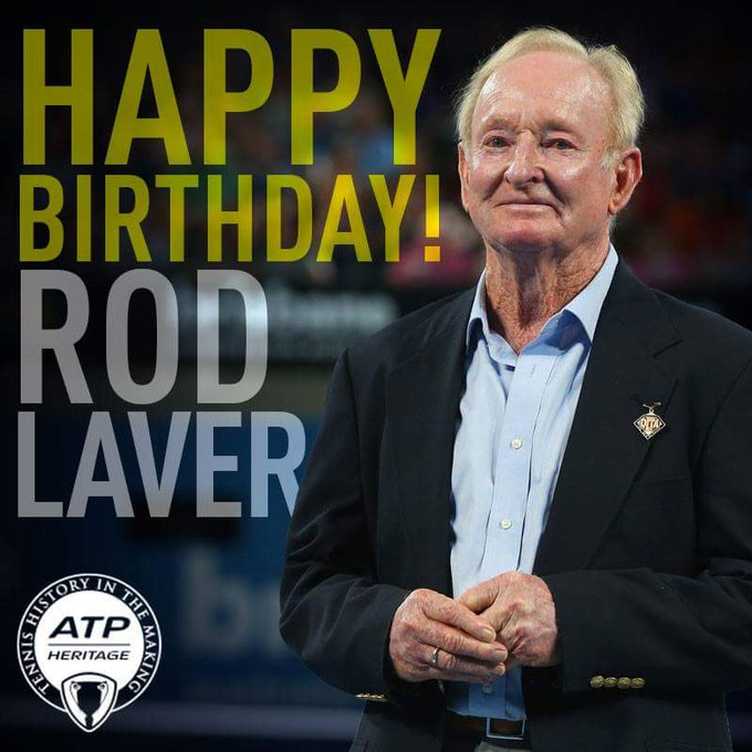 Happy birthday Rod Laver