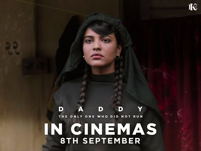 The daring and fearless, Asha Gawli! #Daddy hits cinemas on 8th September! #DaddyOn8Sept @DaddyRealStory @rampalarjun https://t.co/dHD2JFwF47