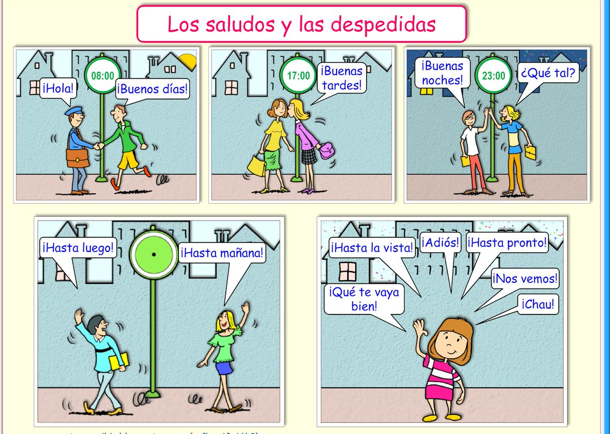 Spanish online on twitter how to greet someone in spanish learn spanish online on twitter how to greet someone in spanish learn more about greeting someone and introducing yourself httpstj6zppdxgcx feliz m4hsunfo