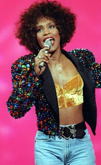 Happy birthday to one of our greatest loves of all - Whitney Houston! A singing sensation and style icon.