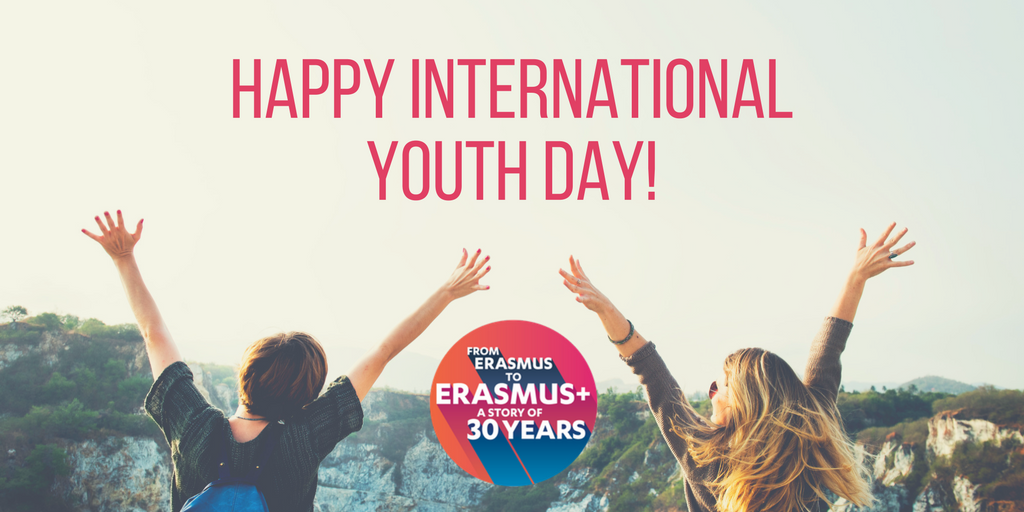 "Happy International Youth Day! Its theme is ""Youth Building Peace""-get inspired with relevant #ErasmusPlus projects!  http:// ec.europa.eu/programmes/era smus-plus/projects/#search/keyword=youth%20building%20peace&amp;matchAllCountries=false &nbsp; … <br>http://pic.twitter.com/XQMSV1Soaq"