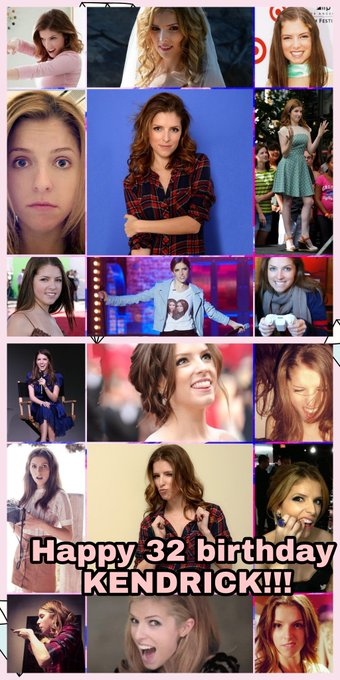 Happy 32 birthday Anna kendrick!! You are awesome.