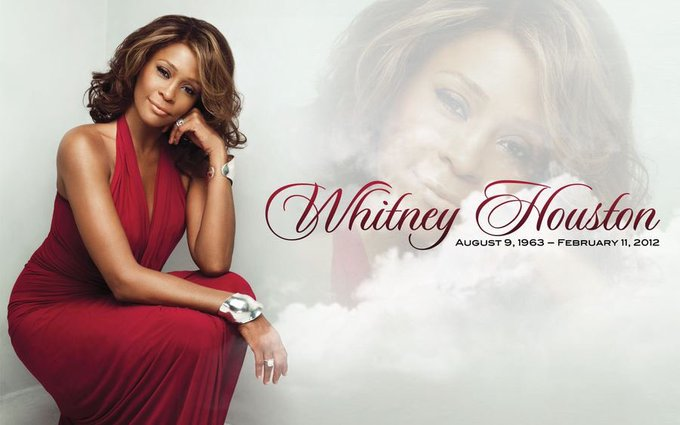 Whitney Houston would\ve been 54 years old today, Happy Birthday Angel!